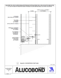 Alucobond Rainscreen II Base Condition