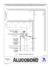 Alucobond Rainscreen II Inside Corner
