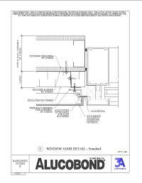 Alucobond Rainscreen II Window Jamb Standard