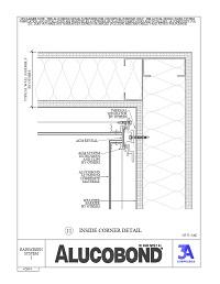 Alucobond Rainscreen System I Inside Corner