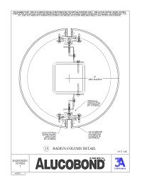 Alucobond Rainscreen System I Radius Column