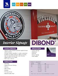Interior Signage with DIBOND