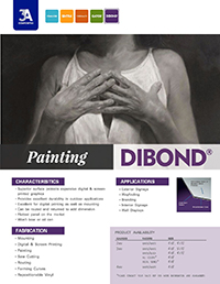 Painting on High Quality Surface of DIBOND