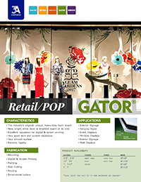 POP & Retail Displays with GATORPLAST
