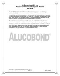 Alucobond Products