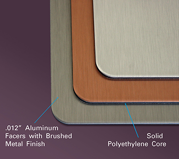 DIBOND® BUTLERFINISH® Brushed Metals