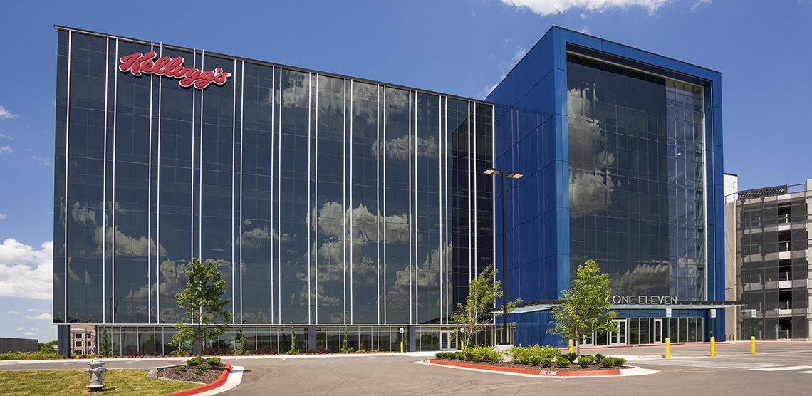 Modern, Occupant-Focused Office Space Achieves Color-Driven Design with ALUCOBOND PLUS Cladding