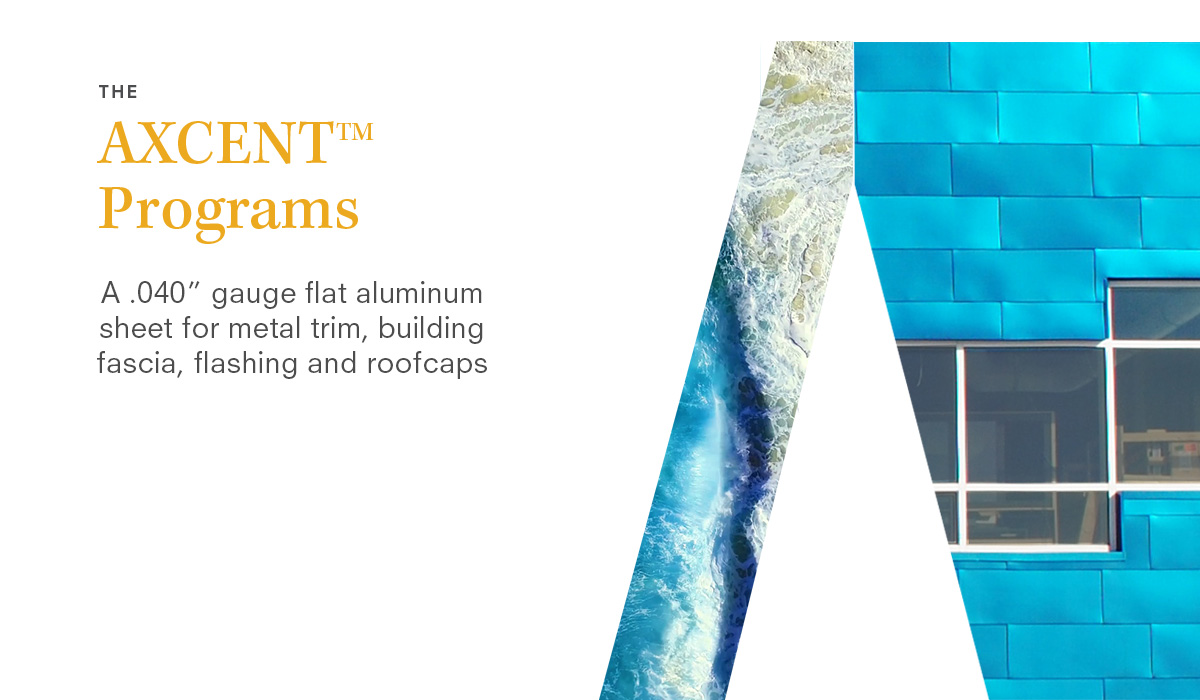Introducing 34 new colors to ALUCOBOND AXCENT